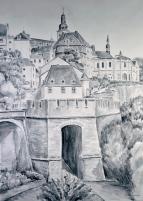 zur Galerie Luxemburg - Skizzen/Zeichnungen